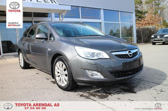 Opel Astra 1,4 Turbo 120hk Cosmo Sports Tourer  2012, 55000 km, kr 139000,-