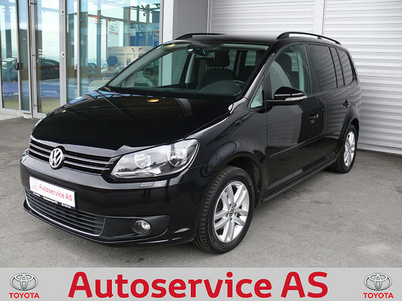 Volkswagen Touran 1,6 105 TDI BMT Edition 7-s.  2013, 83000 km, kr 189000,-