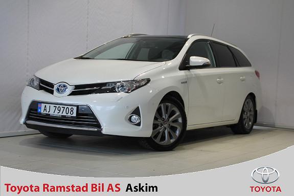 Toyota Auris Touring Sports 1,8 Hybrid Executive Glasstak, H.feste.  2014, 50000 km, kr 215000,-
