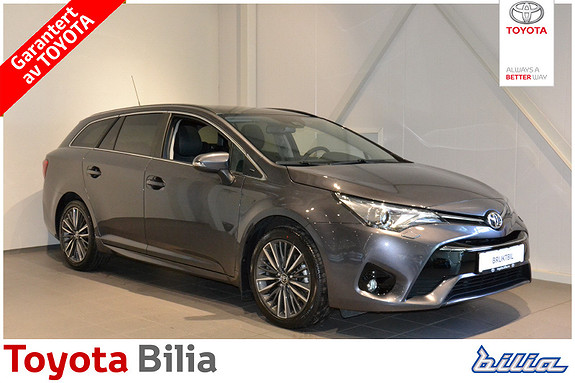 Toyota Avensis 1,8 Active Style Multidrive S7  2017, 7 500 km, kr 349 000,-