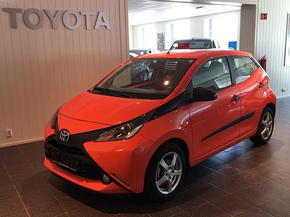 Toyota Aygo x-cite 1,0  2014, 9202 km, kr 129000,-