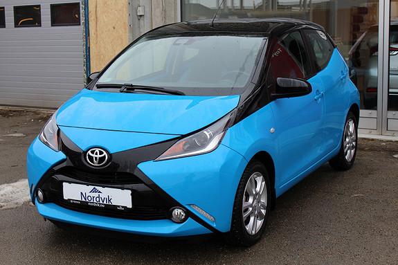 Toyota Aygo x-cite 1,0  2016, 19860 km, kr 135000,-