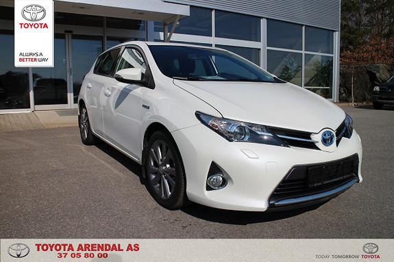 Toyota Auris 1,8 Hybrid E-CVT Active  2013, 54500 km, kr 179000,-