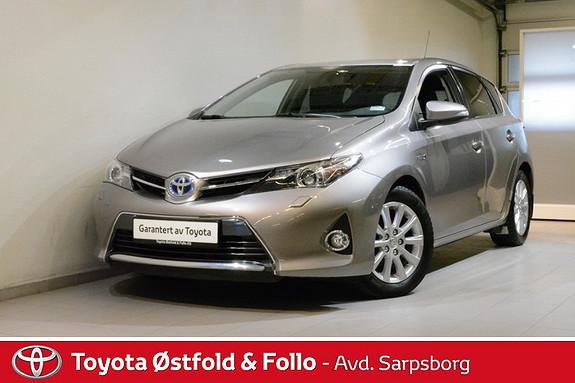 Toyota Auris 1,8 Hybrid E-CVT Active , DAB+/MØRKE RUTER/NAVIGASJON M  2015, 65300 km, kr 192000,-