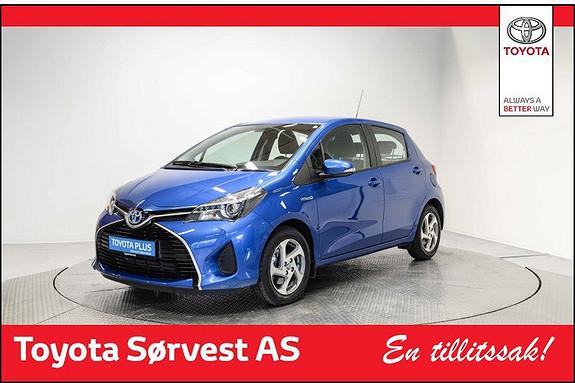 Toyota Yaris 1,5 Hybrid Active e-CVT LAV KM!  2015, 4400 km, kr 195000,-