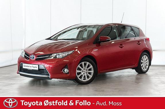 Toyota Auris 1,8 Hybrid E-CVT Active+ /KOMPLETT SERVICEHISTORIKK/DEF  2015, 39700 km, kr 208000,-