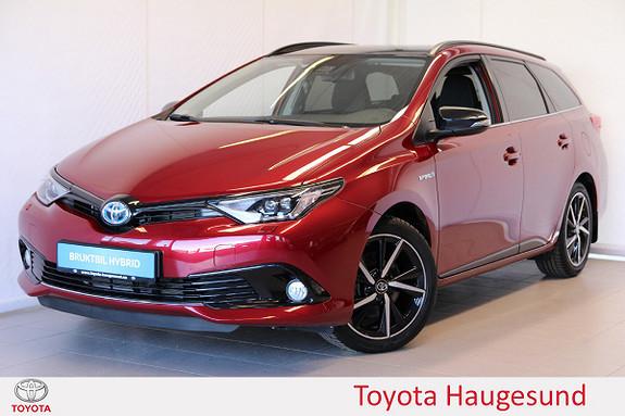 Toyota Auris Touring Sports 1,8 Hybrid Style Edition  2017, 4359 km, kr 285000,-
