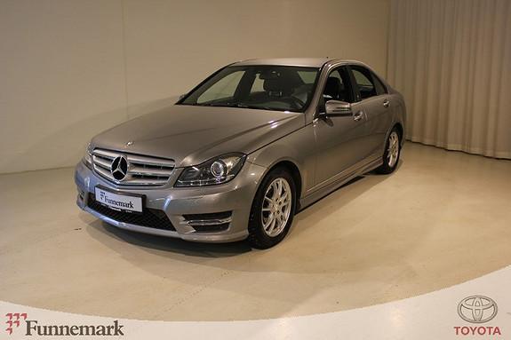 Mercedes-Benz C-Klasse C180 CDI Avantgarde aut  2013, 37500 km, kr 239000,-