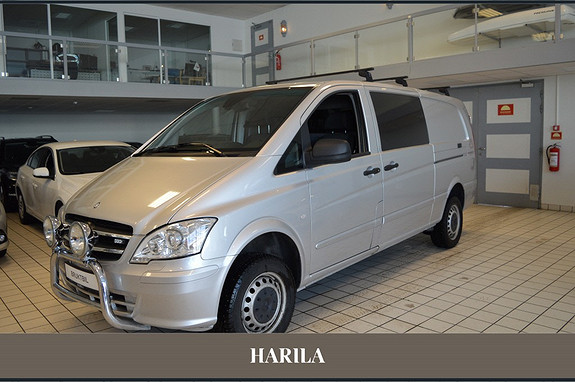 Mercedes-Benz Vito 116 CDI Ekstra Lang 4x4 aut  2013, 146333 km, kr 225000,-