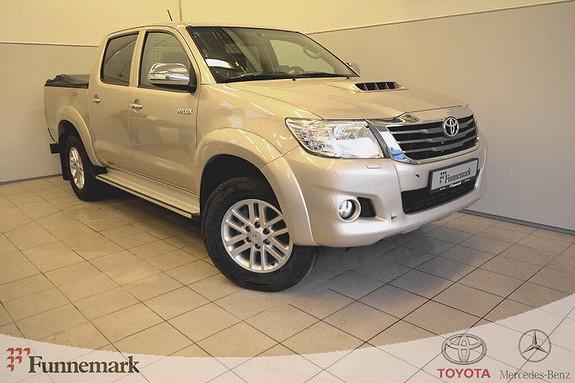 Toyota HiLux D-4D 144hk Double Cab 4WD SR5 Dab-ryggekamera-nye dekk  2014, 151000 km, kr 199000,-