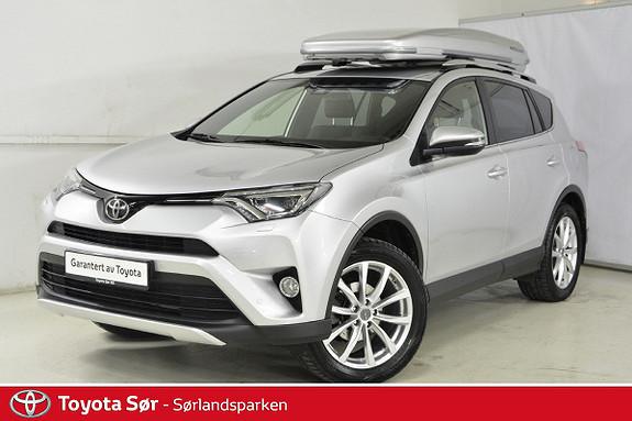 Toyota RAV4 2,0 4WD Active Style aut M/Takboks og hengerfeste  2016, 23500 km, kr 399000,-
