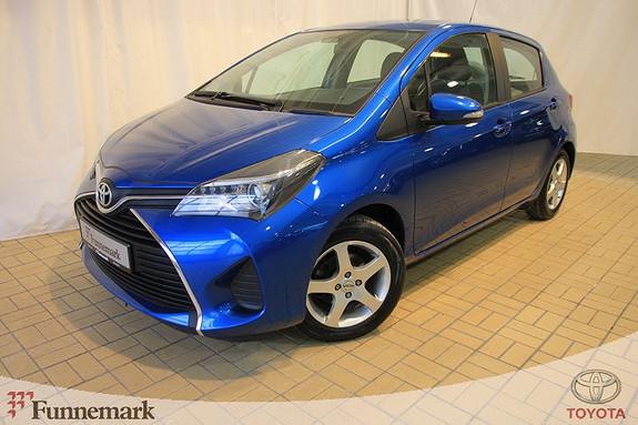 Toyota Yaris 1,33 Active  2014, 44873 km, kr 149000,-