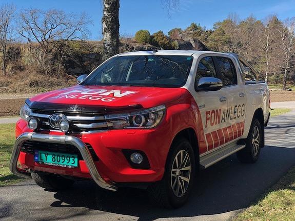 Toyota HiLux 2.4Diesel D-Cab SR+  2016, 18000 km, kr 429000,-