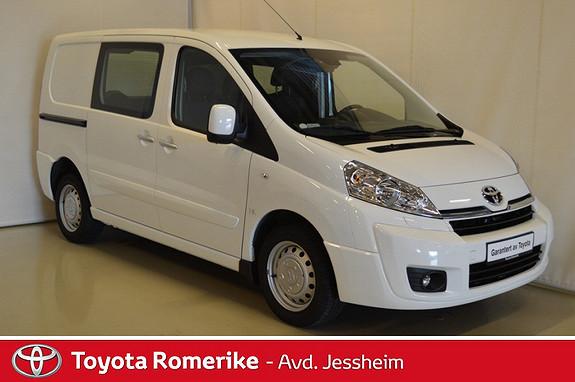Toyota Proace 2,0 128hk L1H1 (m/bakluke)  2015, 32600 km, kr 179000,-
