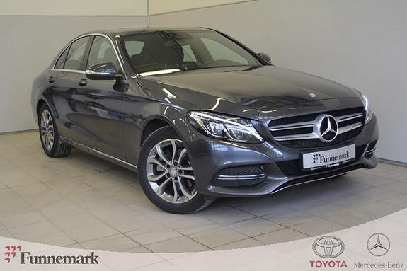Mercedes-Benz C-Klasse C220 CDI BlueTec Aut Glasstak, Krok, LED, DAB+  2015, 82500 km, kr 319000,-