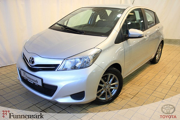 Toyota Yaris 1,33 Active  2014, 48361 km, kr 149000,-