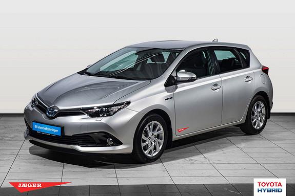 Toyota Auris 1,8 Hybrid E-CVT Active Flott demobil.Tectylert  2017, 4500 km, kr 279000,-