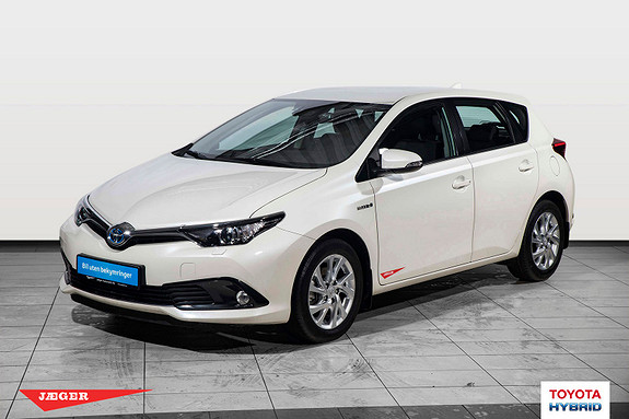 Toyota Auris 1,8 Hybrid E-CVT Active  2017, 1200 km, kr 279000,-
