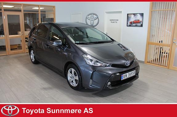 Toyota Prius+ Seven 1,8 VVT-i Hybrid Executive **LAV KM**7 SETER**NYBILGARA  2016, 16900 km, kr 299000,-