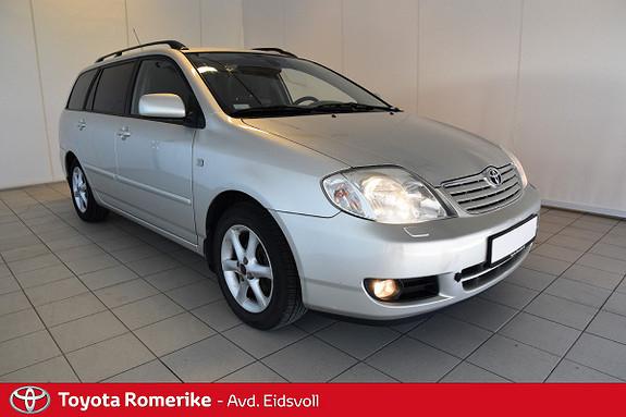 Toyota Corolla 1,4 Sol Dab, Ac, Hengerfeste, Defa, isofix  2006, 144819 km, kr 65000,-