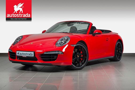 Porsche 911 991 C4S Cabrio  2014, 39000 km, kr 1290000,-