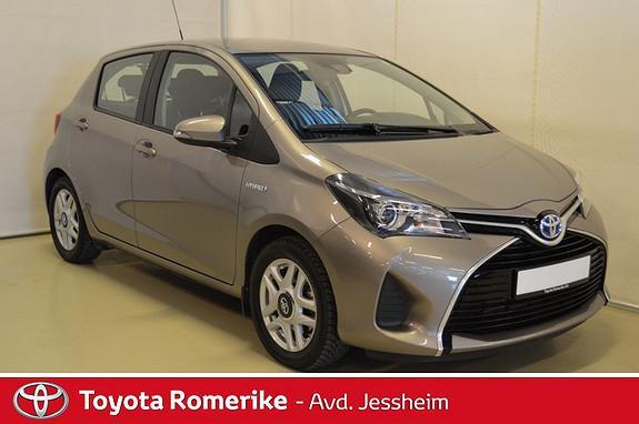 Toyota Yaris 1,5 Hybrid Active e-CVT  2015, 18300 km, kr 189000,-