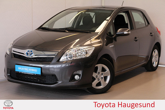 Toyota Auris 1,8 Hybrid Advance HSD Navigasjon, kamera, Tectyl  2012, 65061 km, kr 139000,-