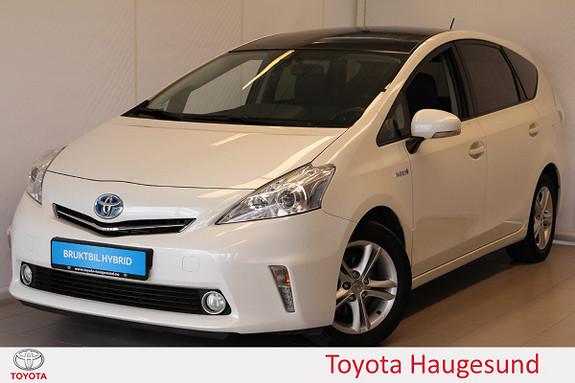 Toyota Prius+ Seven 1,8 VVT-i Hybrid Executive Panorama, kamera, Tectyl  2012, 104657 km, kr 185000,-