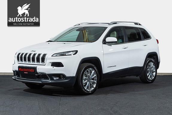 Jeep Cherokee Limited 2,2 MJD AT 200Hk AWD Nav BT Skinn KAMPANJE