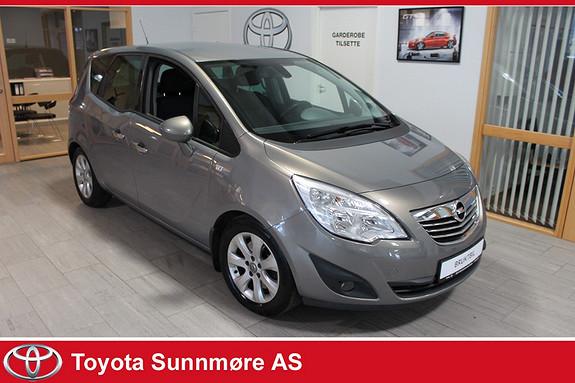 Opel Meriva 1,7DTC Cosmo **VELHOLDT**GARANTI**DRIVSTOFFGJERRIG**GOD  2011, 84000 km, kr 79000,-