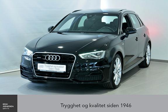 Audi A3 Sportback 1,8 TFSI 180hk Ambit. Q S-tronic  2015, 24990 km, kr 369000,-