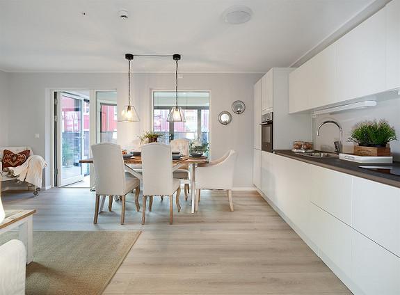 Ny leilighet i Kiellands gate 2, nede ved bryggene.  5 av 10 leiligheter er solgt.