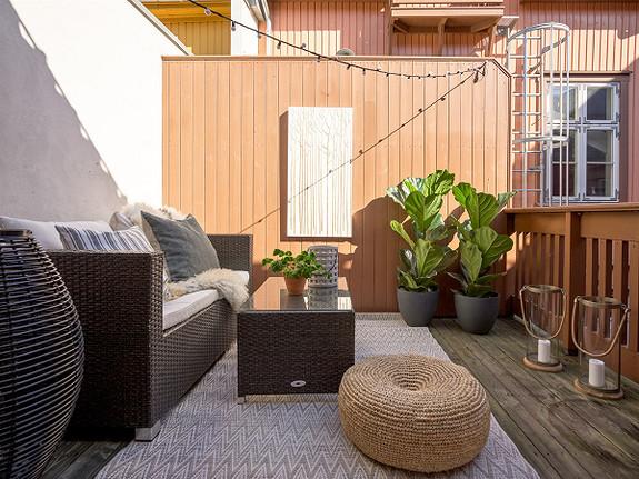 Bo som om du var på ferie - stemningsfullt, 2-roms i vakre  Gamlebyen