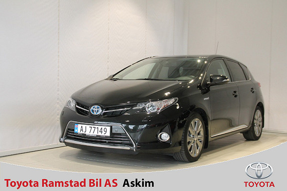 Toyota Auris 1,8 Hybrid E-CVT Executive  2013, 54000 km, kr 169000,-