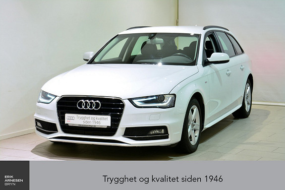 Audi A4 Avant 2,0 TDI 150hk multitronic  2015, 39900 km, kr 305000,-