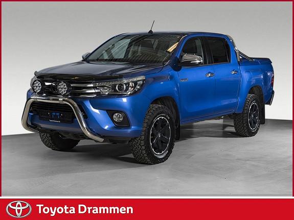 Toyota HiLux D-4D 150hk D-Cab 4WD SR aut  2017, 12760 km, kr 439000,-