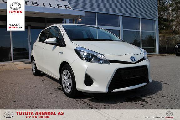 Toyota Yaris 1,5 Hybrid Active  2013, 56400 km, kr 139000,-