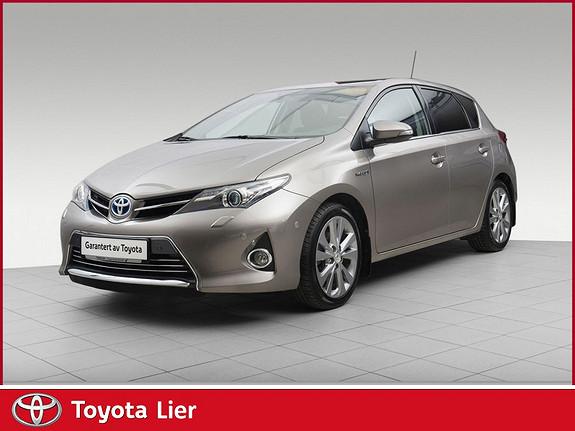 Toyota Auris 1,8 Hybrid E-CVT Executive Topp Modell  2013, 57000 km, kr 185000,-