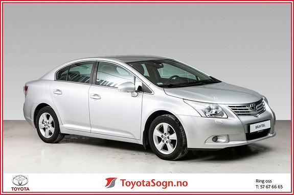 Toyota Avensis 1,8 147hk Advance  2009, 77820 km, kr 125000,-
