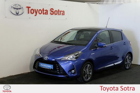 Toyota Yaris 1,5 Hybrid Style e-CVT aut Glasstak, Lav KM!  2017, 7363 km, kr 239000,-