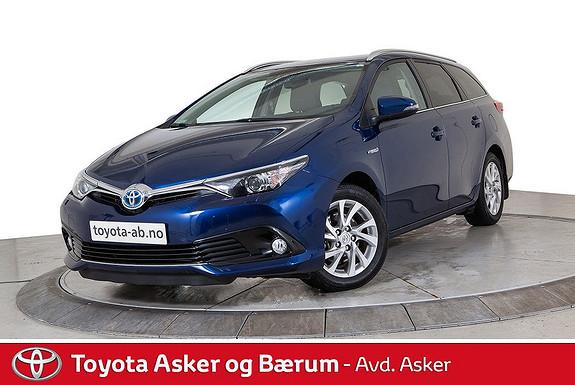 Toyota Auris Touring Sports 1,8 Hybrid Active Sport  2017, 29800 km, kr 275000,-