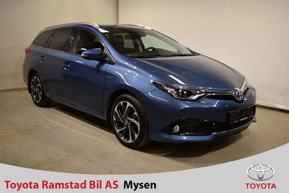 Toyota Auris 1,8 Hybrid E-CVT Style  2016, 30700 km, kr 255000,-