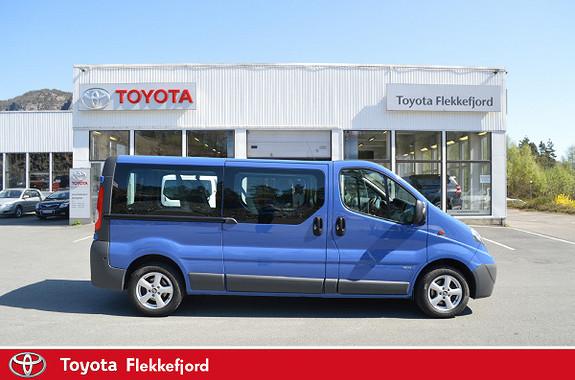Opel Vivaro 2,0 CDTi ecoFLEX 114hk L2H1 9 SETER  2014, 57339 km, kr 309000,-
