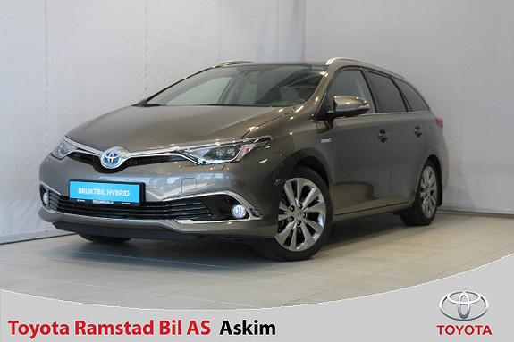 Toyota Auris Touring Sports 1,8 Hybrid Executive Skinn, Glasstak,  2017, 36400 km, kr 299000,-