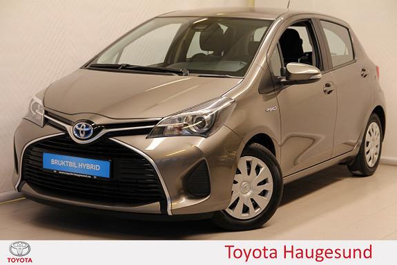 Toyota Yaris 1,5 Hybrid Active S e-CVT Navi, ryggekamera, DAB+, B/T  2016, 47196 km, kr 180000,-