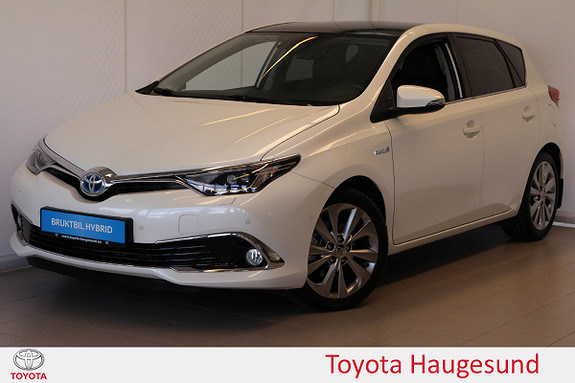 Toyota Auris 1,8 Hybrid E-CVT Executive Skinn, navi, kamera, Tectyl  2015, 24259 km, kr 235000,-