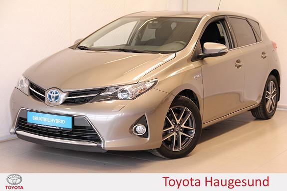 Toyota Auris 1,8 Hybrid E-CVT Active S Navi, kamera, DAB+, Bluetooth  2015, 29461 km, kr 209000,-