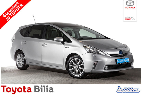 Toyota Prius+ Seven 1,8 VVT-i Hybrid Premium  2014, 105308 km, kr 229900,-
