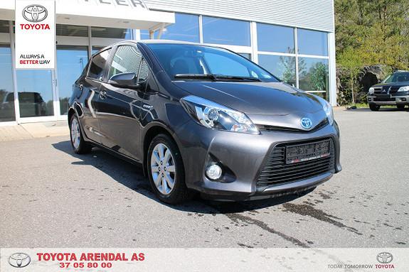 Toyota Yaris 1,5 Hybrid Style  2013, 50270 km, kr 139000,-