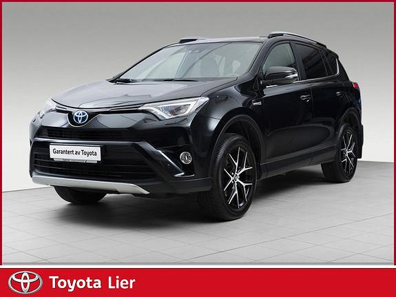 Toyota RAV4 Hybrid 4WD Active Style Demo bil selges.  Masse utstyr  2017, 16000 km, kr 449000,-
